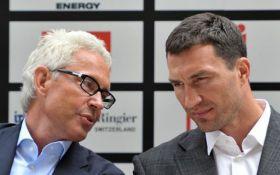 Менеджер Кличко сделал громкое заявление перед боем с Джошуа
