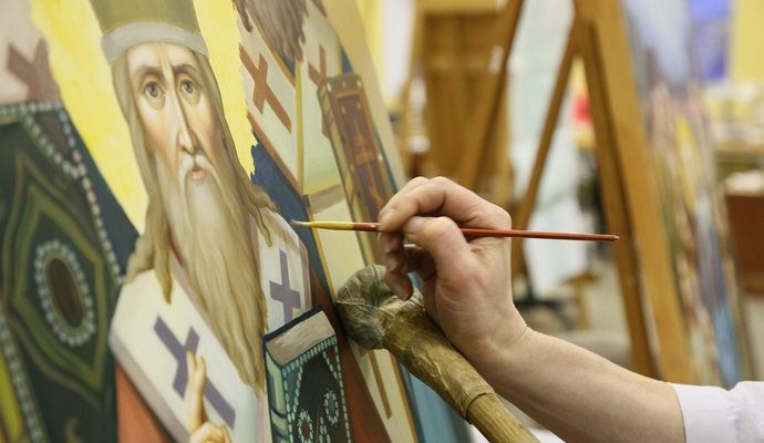 На Тернопольщине впервые собрались украинские иконописцы