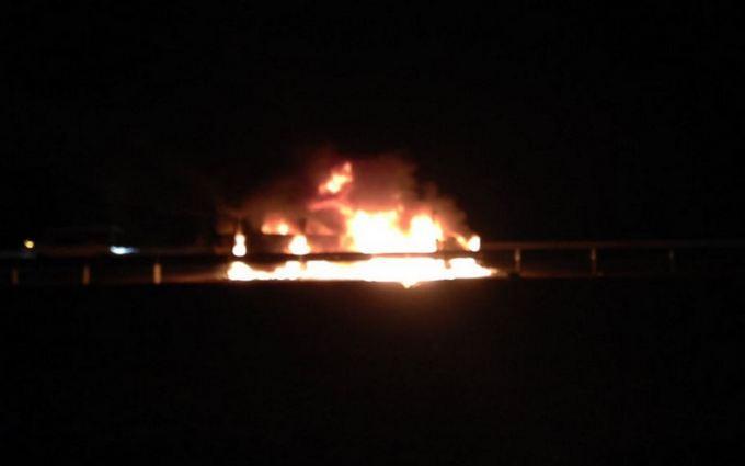 В Чечне напали на группу журналистов из разных стран и сожгли их авто