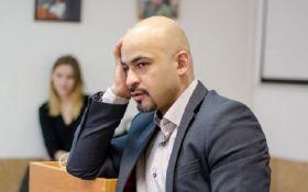Нардеп Найем попал в ДТП в Киеве: появилось видео