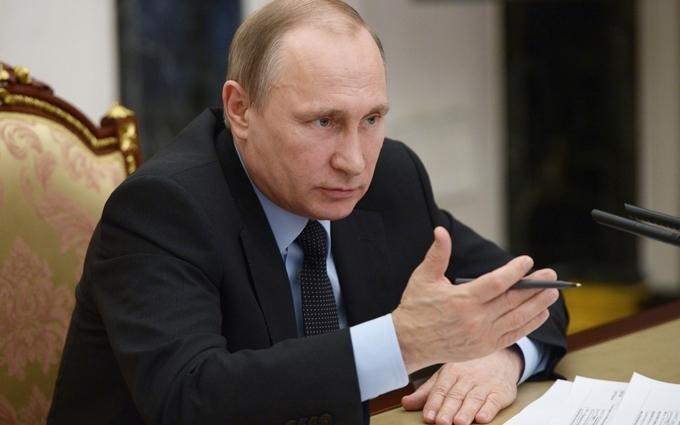 У Росії Путіна прославили кострубатою англійською: опубліковані фото