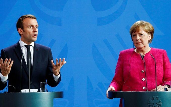 """""""Нормандские"""" переговоры по Донбассу: Макрон и Меркель отчитались о результатах"""