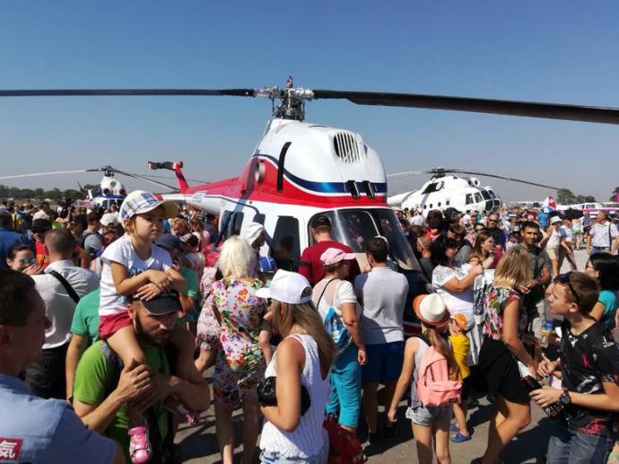 В Запорожье представили первый украинский вертолет: опубликованы фото (2)
