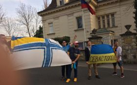 У Хорватії українців затримали за акцію перед посольством Росії: з'явилися фото