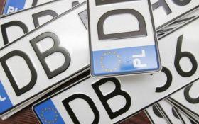 Спрощення ввезення авто на єврономерах в Україну: до Верховної Ради внесли важливі законопроекти