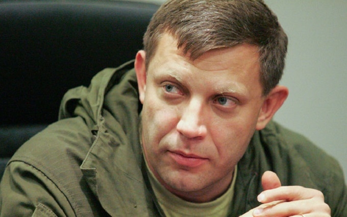 Главаря боевиков Захарченко увидели под Ясиноватой: опубликовано фото