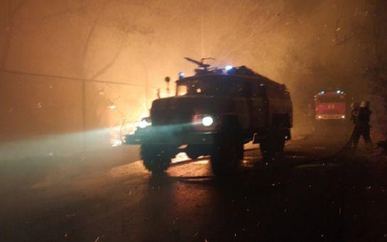 Штаб ООС назвал реальную причину масштабных пожаров на Луганщине