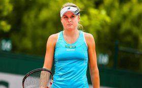 Украинская теннисистка выиграла матч-триллер на Roland Garros