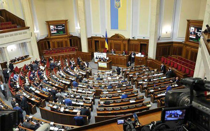 Рада приняла закон о документальном оформлении травм участников АТО