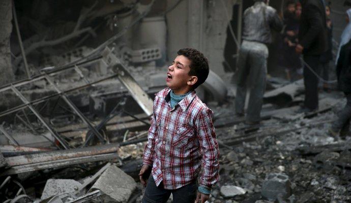 Сотни тысяч людей в Сирии могут умереть от голода