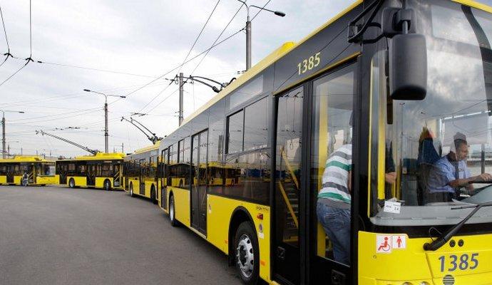 Ребенка ударило током в киевском троллейбусе