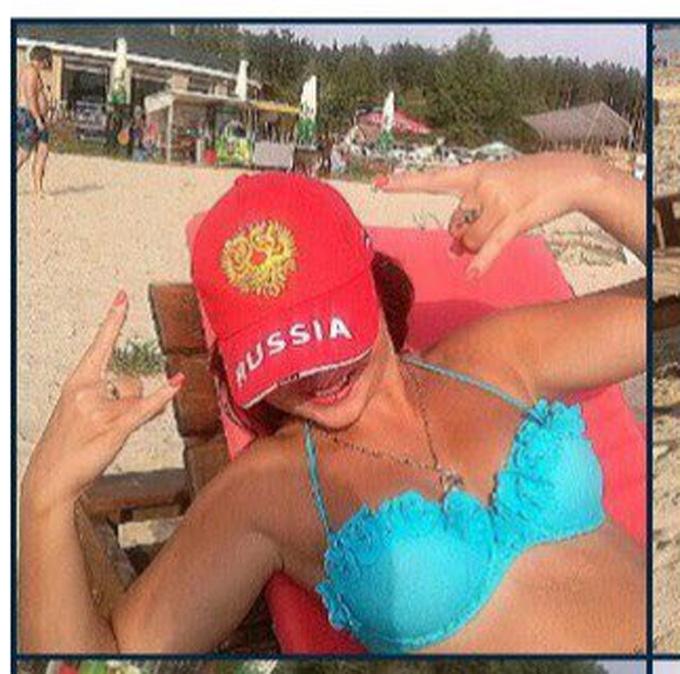 """Розгорається скандал з поліцейською з Харкова, люблячою """"русскій мір"""": з'явилися фото (1)"""