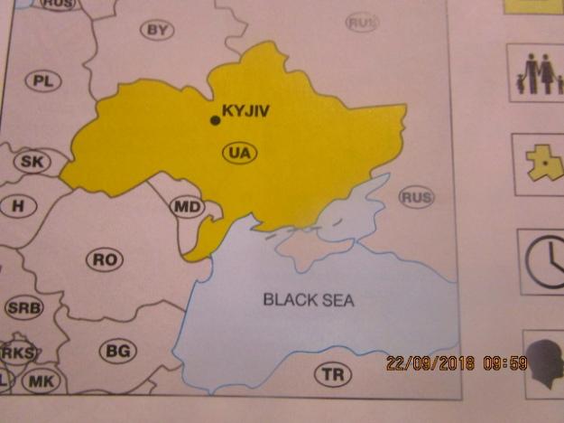 Скандальное немецкое издание на новых картах обозначило Крым отдельным государством: возмутительные фото (1)