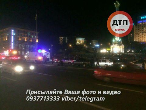 У самому центрі Києва сталася серйозна ДТП: з'явилися фото (1)