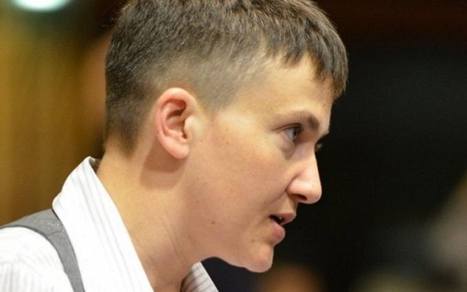 Бойовики ДНР засікли Савченко на передовій