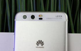 Huawei представить смартфони з потрійною основною камерою