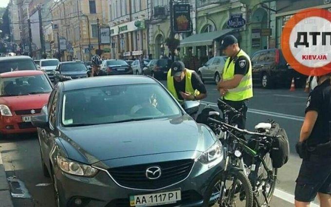 Ведуча українського каналу поплатилася за ДТП з поліцією