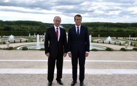 Путин и Макрон провели переговоры перед встречей с Меркель и Эрдоганом: о чем говорили президенты России и Франции