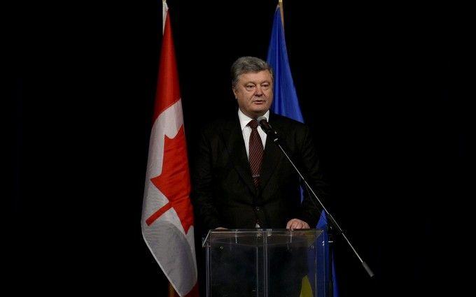 Розміщення миротворців нездійснюватиметься засценарієм РФ— Порошенко