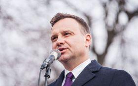 Дуда: мы не можем оставить Украину