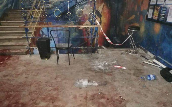 У Сумах прогримів потужний вибух в нічному клубі: з'явилося відео з моментом вибуху гранати і фото затриманого