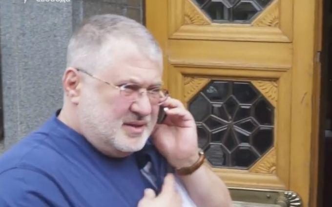 Коломойский неожиданно приехал к Порошенко: опубликовано видео