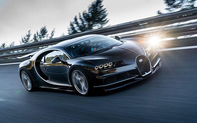 Представлена замена Bugatti Veyron