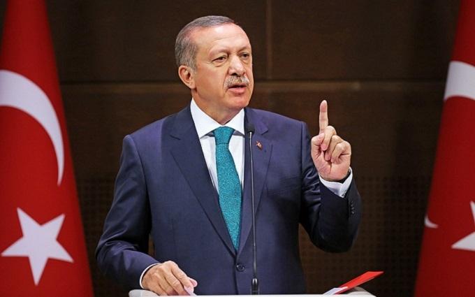 Ердоган звинуватив Євросоюз в упередженості до Туреччини