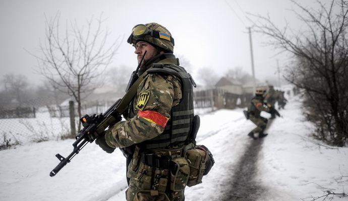 За сутки в зоне АТО ранено 11 украинских военных