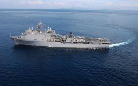 Військовий корабель США увійшов у Чорне море: з'явилися фото