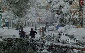 Столицю Ірану паралізувало через снігопад: з'явилися яскраві відео