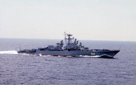 """""""Допитливий"""" стежить: у Путіна відреагували на появу військового корабля США в Чорному морі"""