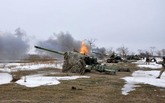 Украинская артиллерия ударила по морским целям: появились фото и видео учений