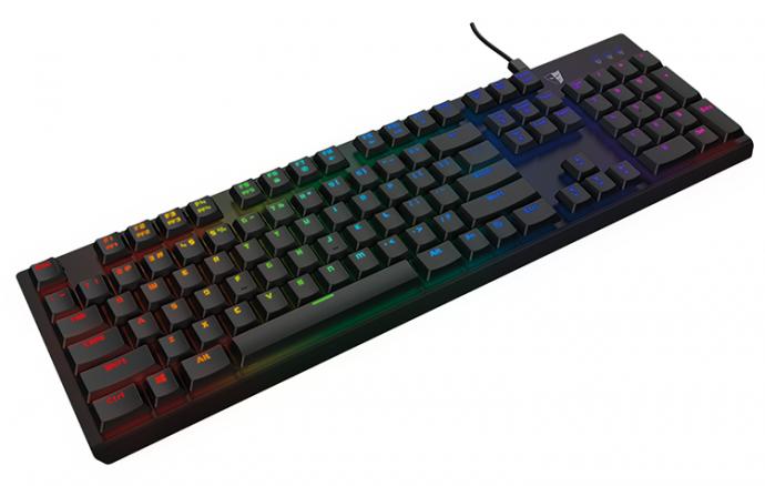 Tesoro представила ігрову клавіатуру Gram Spectrum RGB