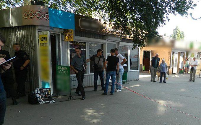 У Києві напад на обмінник перетворився на курйоз: з'явилися фото і відео
