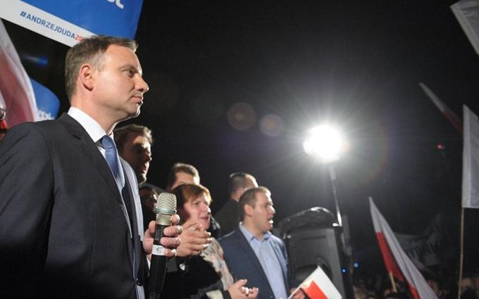 Президент Польши попал в аварию