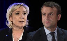 Президентские выборы во Франции: Ле Пен и Макрон прошли во второй тур