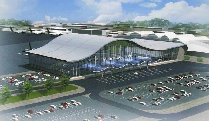 Аеропорт в Жулянах відновив роботу