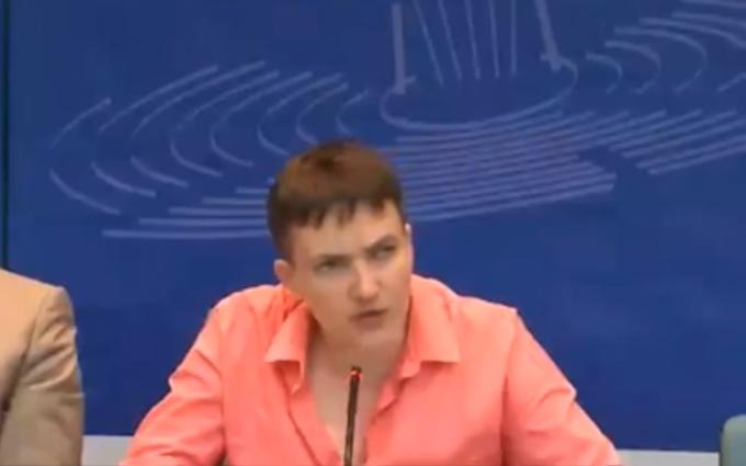 Савченко жорстко відповіла російському журналісту: опубліковано відео