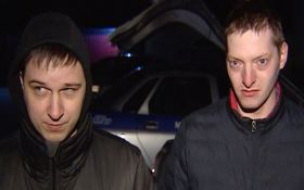 В Беларуси задержаны вооруженные люди с флагом Украины: появились фото и видео