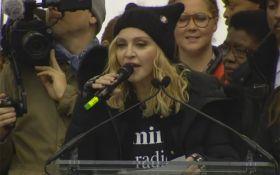 Мадонна обматерила Трампа на Марше женщин: опубликовано видео