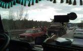 В Харькове грузовик военных попал в ДТП: опубликованы фото