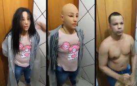 Преступник выдал себя за девушку, чтобы убежать из тюрьмы - видео