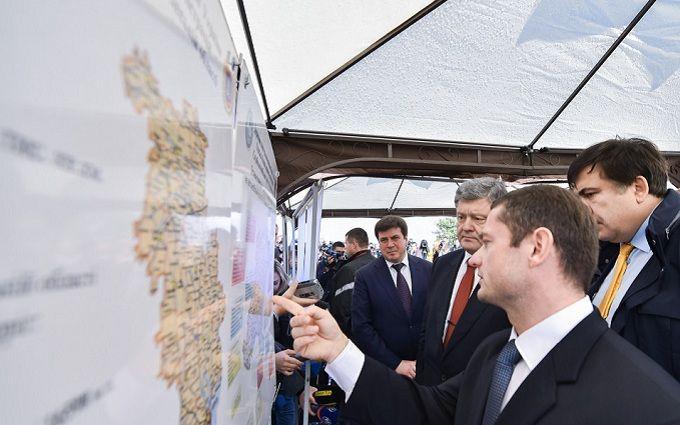 Порошенко зробив важливу заяву про одну з головних трас України: з'явилися фото