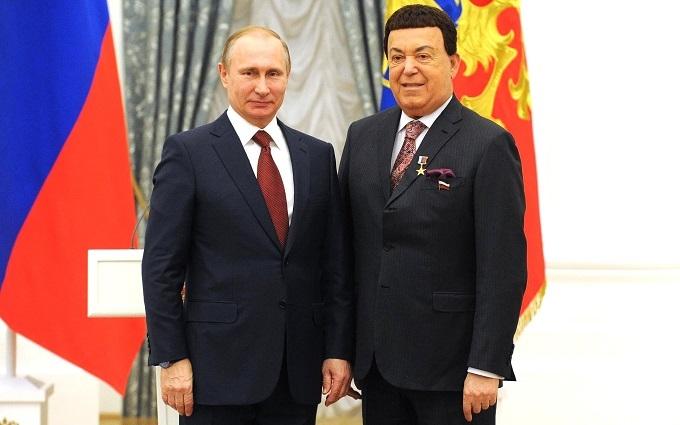 Кобзон розповів, як розмовляв з Путіним про Донбас