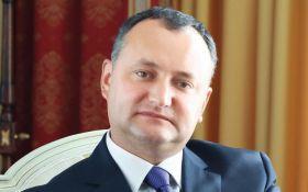 Президент Молдовы, приехав к Путину, сделал резонансное заявление