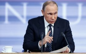 Путін виступив з новими гучними погрозами на адресу України щодо Донбасу