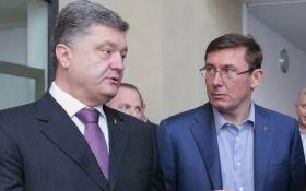 Була гостра розмова: як Порошенко відреагував на відставку Луценко