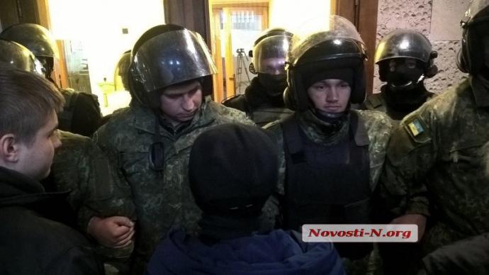 В Николаеве форум партии Медведчука вылился в беспорядки: появились фото (1)