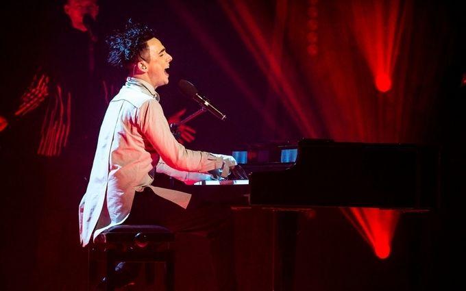 MELOVIN провел первую репетицию наЕвровидении 2018